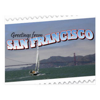 San Francisco, California Postcard