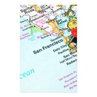 San Francisco, California Stationery