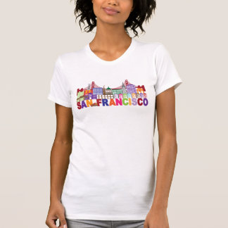 San Francisco, California | Typography Design T-Shirt