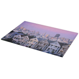 San Francisco, California. View of Victorian Cutting Boards