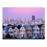San Francisco, California. View of Victorian Postcard
