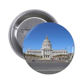 San Francisco Capitol Building Pinback Buttons