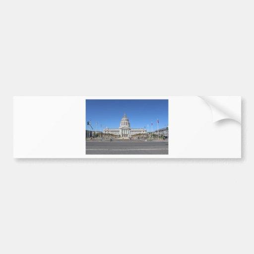 San Francisco Capitol Building Bumper Sticker