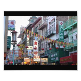 San Francisco China Town Print Photographic Print