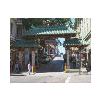 San Francisco Chinatown Gate Canvas