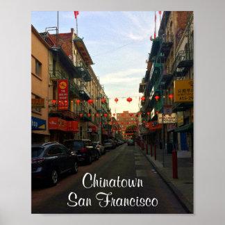 San Francisco Chinatown Lanterns #2-2 Poster