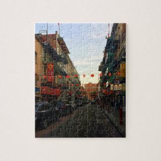 San Francisco Chinatown Lanterns #2 Jigsaw Puzzle