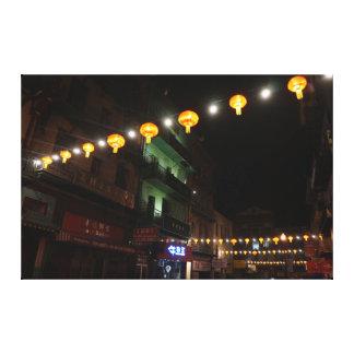 San Francisco Chinatown Lanterns #3 Canvas