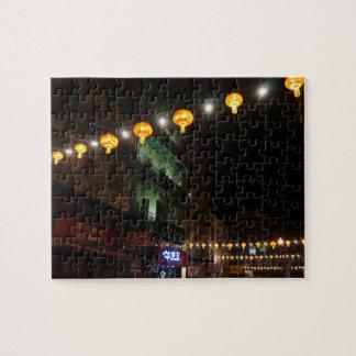 San Francisco Chinatown Lanterns #3 Jigsaw Puzzle