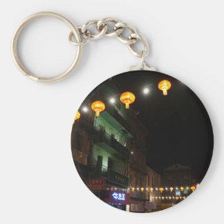 San Francisco Chinatown Lanterns #3 Keychain