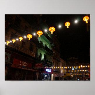 San Francisco Chinatown Lanterns #3 Poster