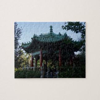 San Francisco Chinese Pavilion #2 Jigsaw Puzzle