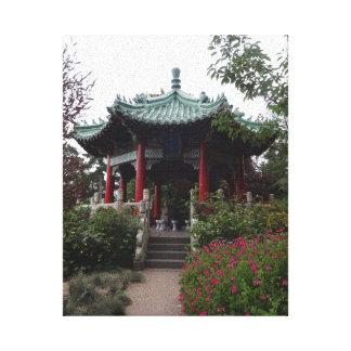 San Francisco Chinese Pavilion Canvas