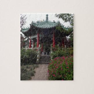 San Francisco Chinese Pavilion Jigsaw Puzzle