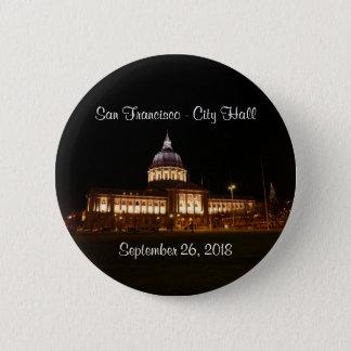 San Francisco City Hall #3 Pinback Button