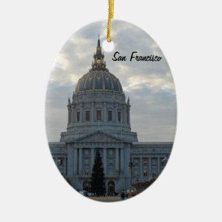 San Francisco City Hall Ceramic Ornament