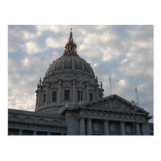 San Francisco City Hall Postcard