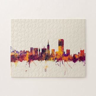 San Francisco City Skyline Jigsaw Puzzle
