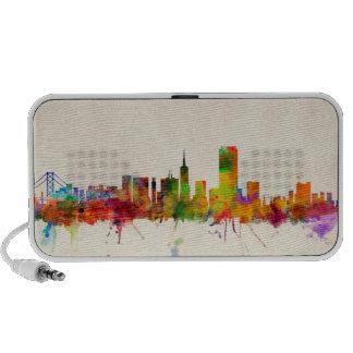 San Francisco City Skyline Notebook Speaker