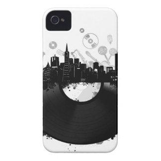 san francisco city skyline vinyl white iPhone 4 case