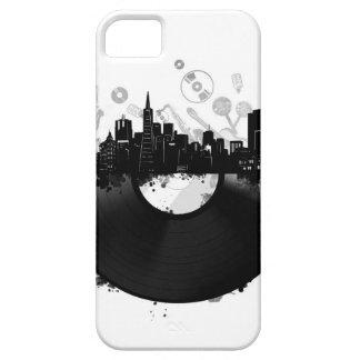 san francisco city skyline vinyl white iPhone 5 cover