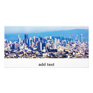 San Francisco City View Panoramic Card