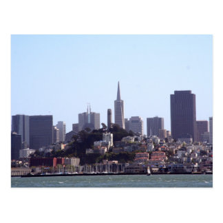 San Francisco City View Postcard