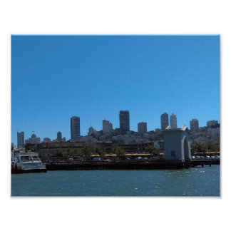 San Francisco City View Poster