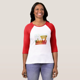 San Francisco cityscape and sign T-Shirt