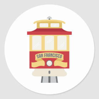 San Francisco Classic Round Sticker