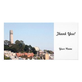 San Francisco Coit Tower Photo Card