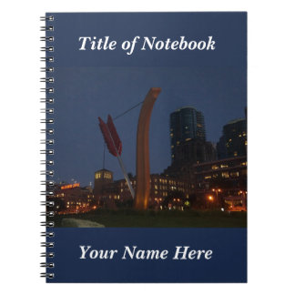 San Francisco Cupid's Span #3 Notebook