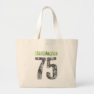 san francisco design large tote bag