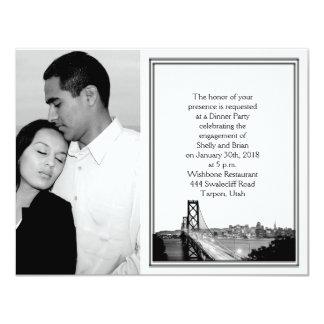 San Francisco Destination Wedding Engagement Card