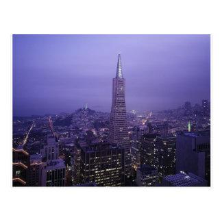 San Francisco Downtown Postcard