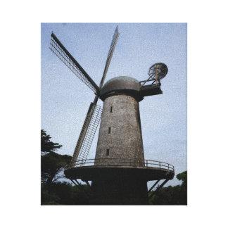 San Francisco Dutch Windmill Canvas