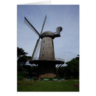 San Francisco Dutch Windmill Card