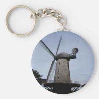 San Francisco Dutch Windmill Keychain