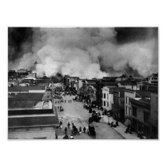 San Francisco Earthquake Aftermath - 1906 Poster
