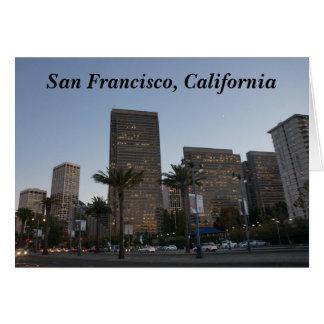 San Francisco Embarcadero #3 Card