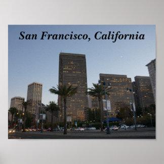 San Francisco Embarcadero #3 Poster