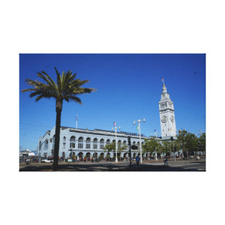 San Francisco Ferry Building #2 Canvas