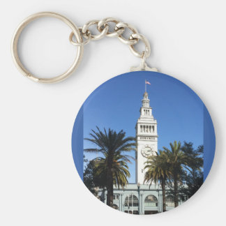 San Francisco Ferry building #3 Keychain