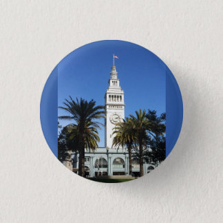 San Francisco Ferry Building #3 Pinback Button