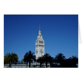 San Francisco Ferry Building #4 Card