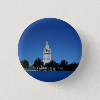 San Francisco Ferry Building #4 Pinback Button