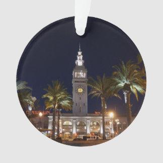 San Francisco Ferry Building #6 Ornament