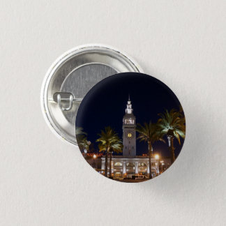 San Francisco Ferry Building #6 Pinback Button