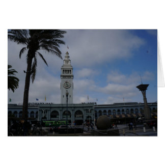 San Francisco Ferry Building #9 Card