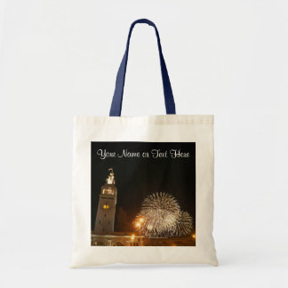 San Francisco Ferry Building Fireworks #2 Tote Bag